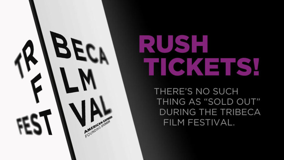 Never Sold Out: Rush Tickets