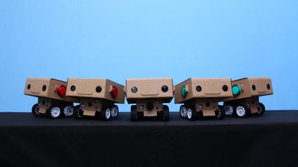 Alexander Reben and Brent Hoff on Robots in Residence