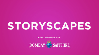 Interact With Storyscapes at the BOMBAY SAPPHIRE® House of Imagination