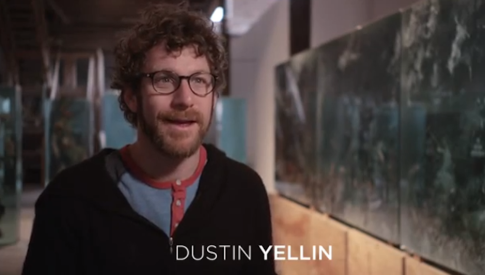 Artist Dustin Yellin On How Films, Girls and Drugs Influence His Work