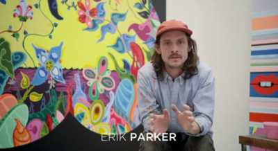 Artist Erik Parker On His Work: 'Whether people like it or not, they know I did it.'