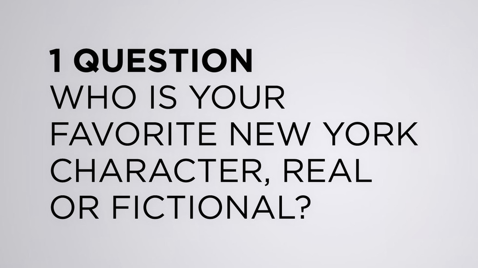 """We Asked the TFF 2013 Filmmakers: """"Who is Your Favorite New York Character, Real or Fictional?"""""""