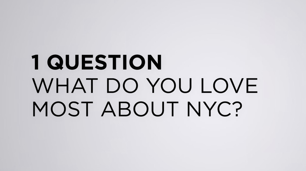 """We Asked the TFF 2013 Filmmakers: """"What Do You Love Most about NYC?"""""""