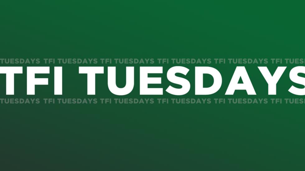 RSVP Today for Tomorrow's TFI Tuesdays