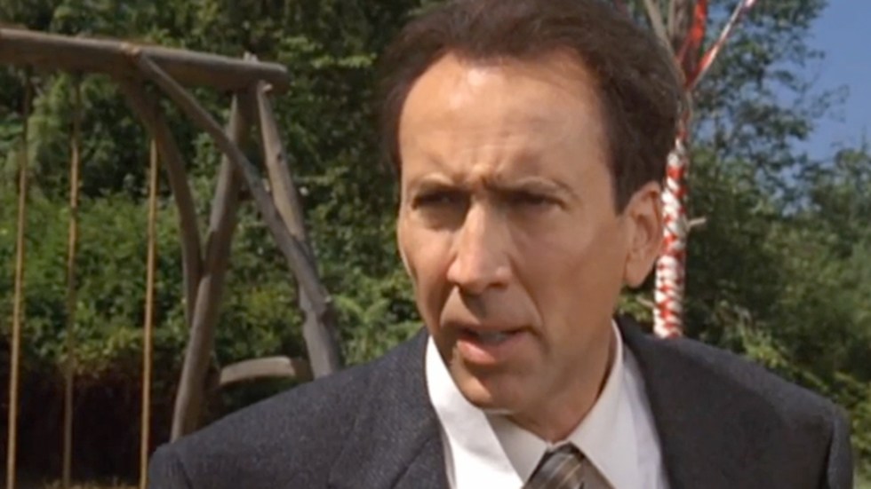 """Supercut: Watch Nic Cage Progressively Run Out of Gas  in """"The Wicker Man"""""""
