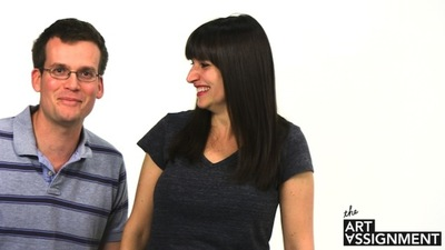 Interview: Sarah and John Green Talk About Their New Web Series 'The Art Assignment'