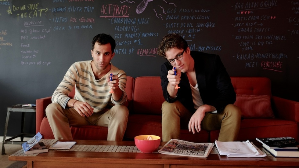 Workspace: We Invade the Offices of Ariel Schulman & Henry Joost of Supermarché