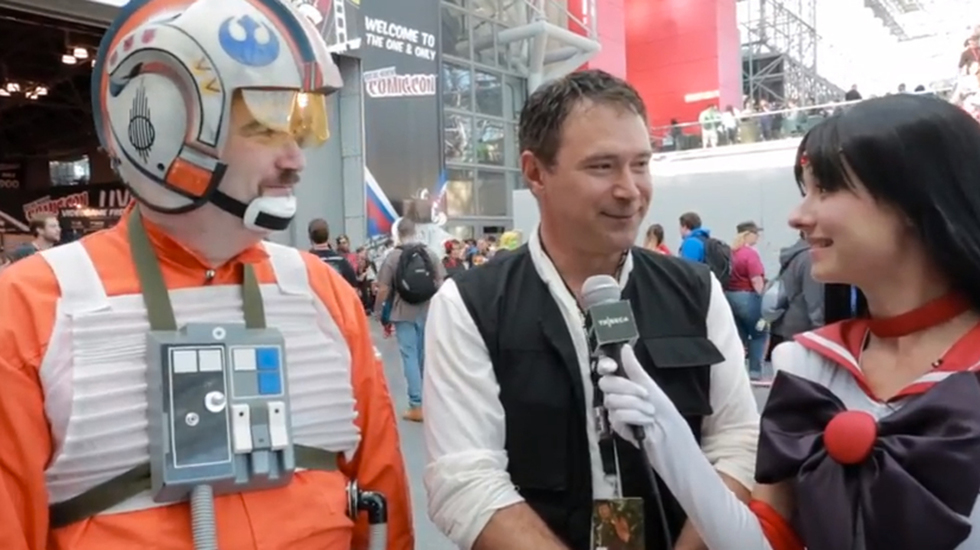 Tribeca at NYCC 2013: Cosplayers on Texting at the Movies