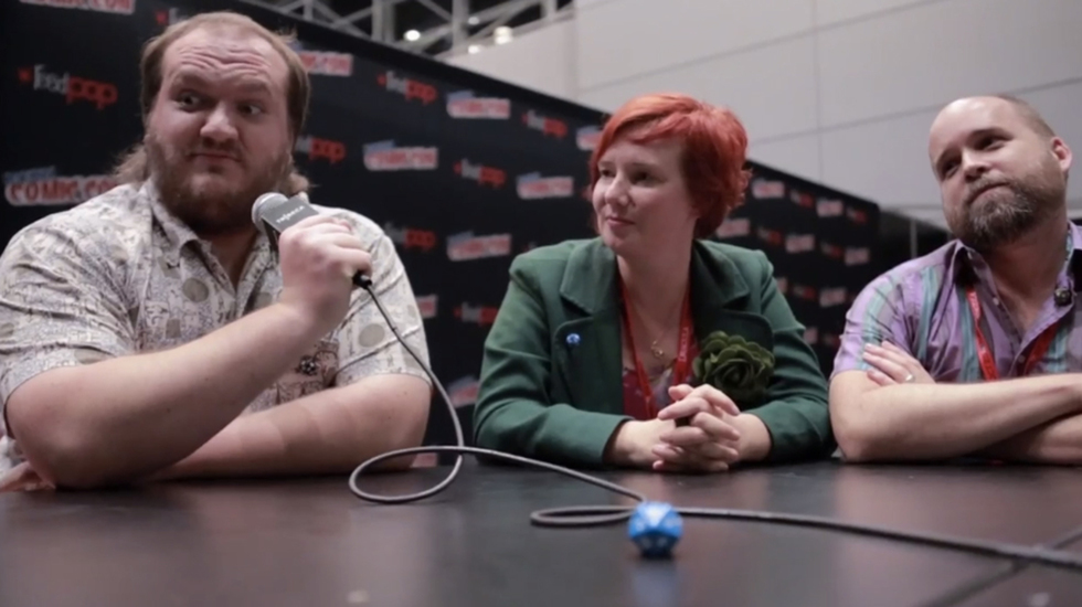 NY Comic Con Interview: The 'Zero Charisma' Team on Who Shot First: Han or Greedo?