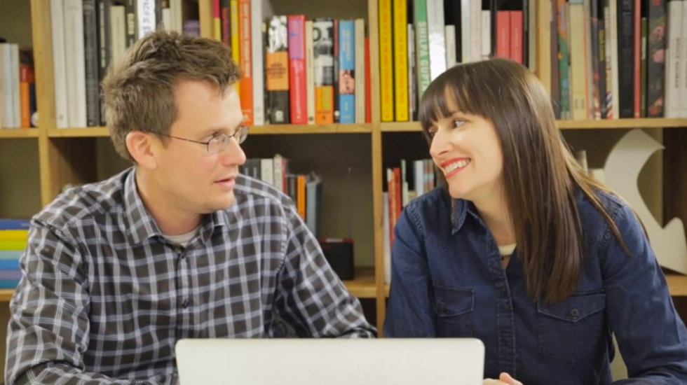 Check out Sarah and John Green's Interactive New Web Series 'The Art Assignment'