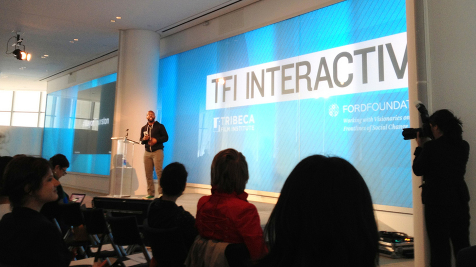 Explore The Future of Storytelling at TFI Interactive Day at TFF 2014