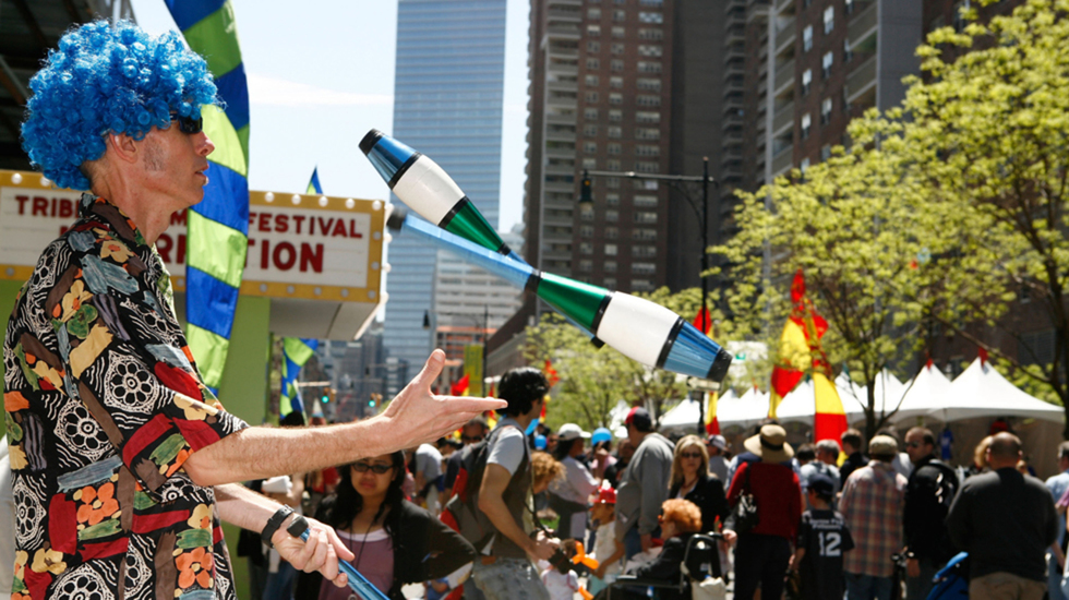 Join Us for Tribeca Family Festival Today!