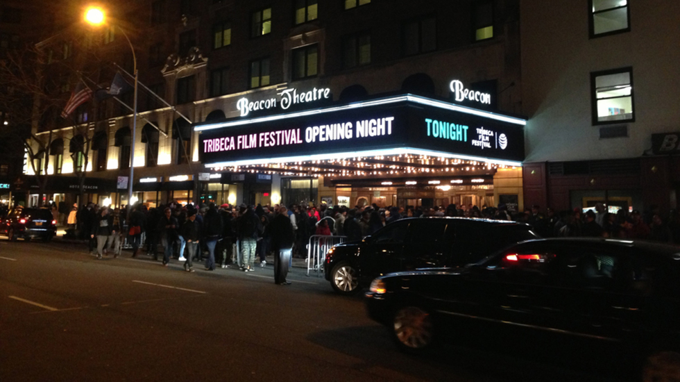 Check Out These Pics From TFF 2014 Opening Night With Nas
