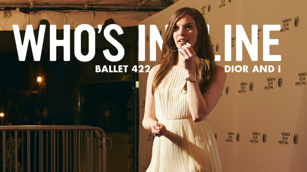 Who's in Line at TFF 2014: 'Dior and I' and 'Ballet 422'