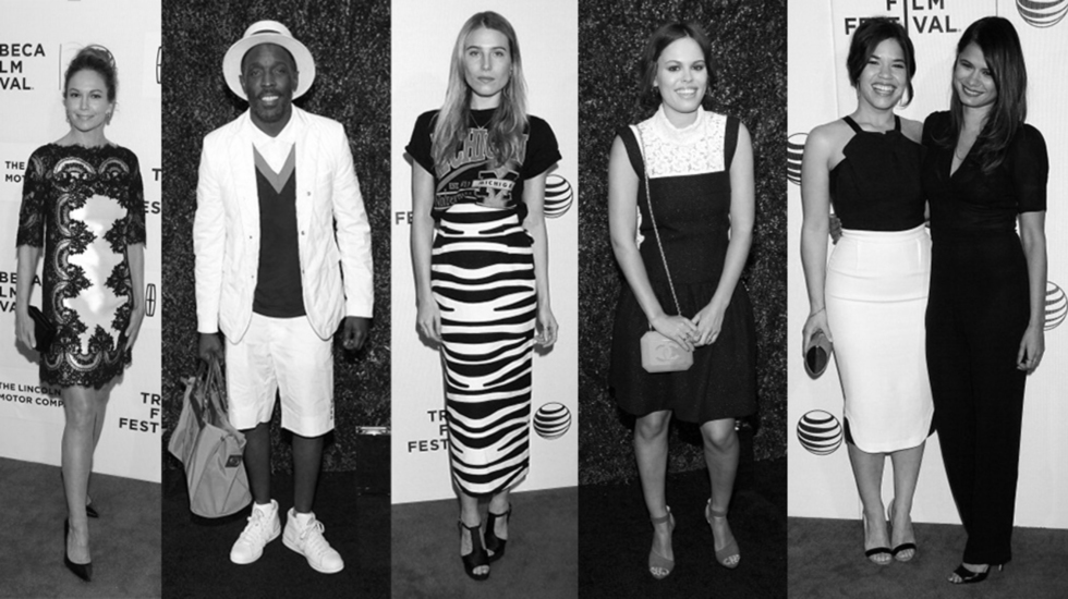 TFF 2014 Fashion: It's All About Black & White