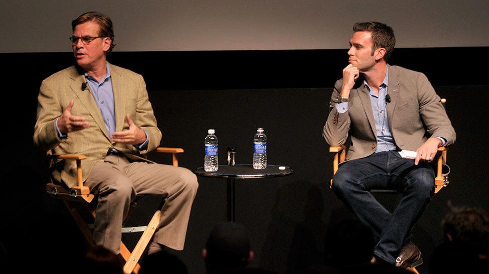VIDEO: Aaron Sorkin On the Dark Side of Twitter