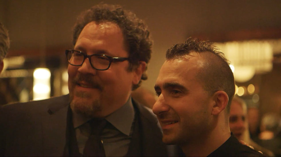 VIDEO: Chef Marc Forgione Cooks for the Stars of 'Chef'