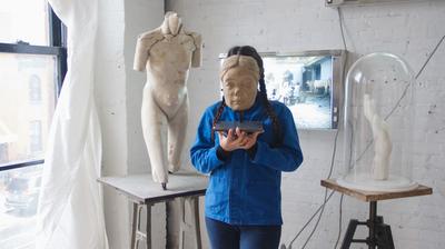 Prune Nourry Talks Tribeca, 'Terracotta Daughters'
