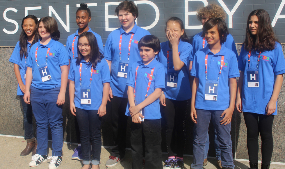 Meet Cute: Tribeca Kids Access Reporters Go Behind the Scenes at TFF