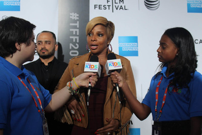 VIDEO: TFF Kid Reporters Interview Mary J. Blige, Robert De Niro, Michael Strahan, and More