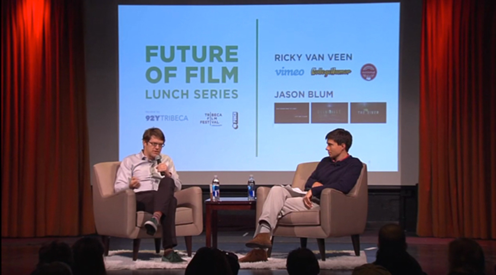 Future of Film: Jason Blum (Sinister) and Ricky Van Veen (Coffeetown) on Harnessing Studio Power