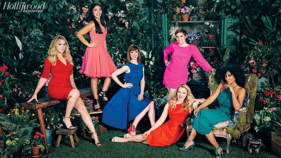 Amy Schumer, Lena Dunham & More Get Candid For THR's Roundtable