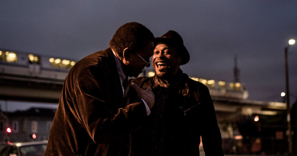 D'Angelo and Bobby Seale Talk Music's Role in Political Protest