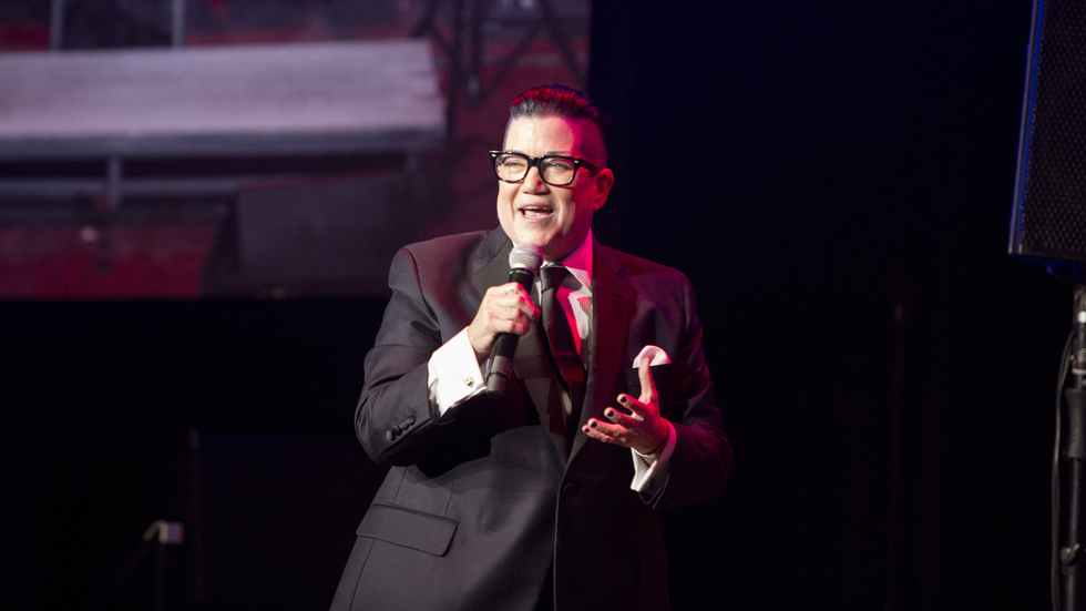 ORANGE IS THE NEW BLACK Fans: Watch Lea DeLaria Pay Tribute to Ol' Blue Eyes as Part of SINATRA AT 100