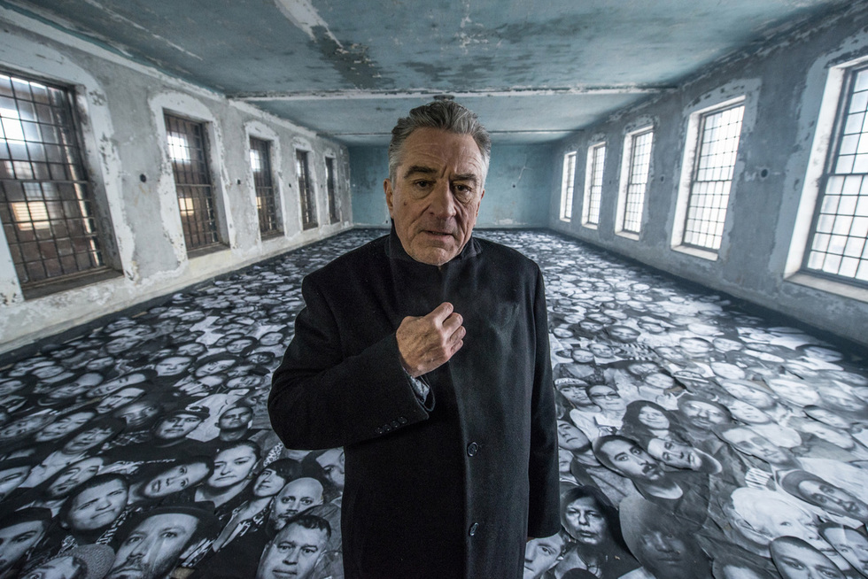 Must See Trailer: New Short  Film by JR Starring Robert De Niro
