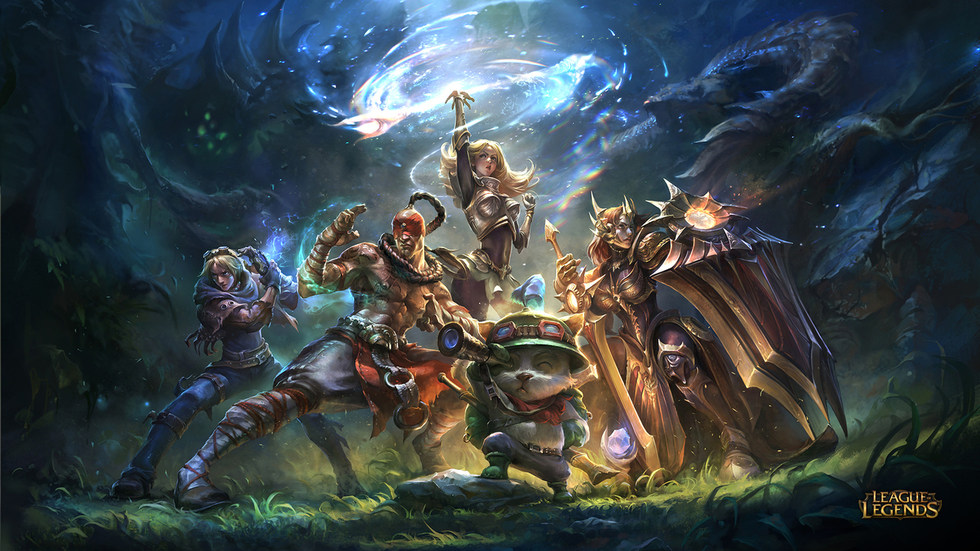 Tribeca Games Presents the Craft and Creative of League of Legends