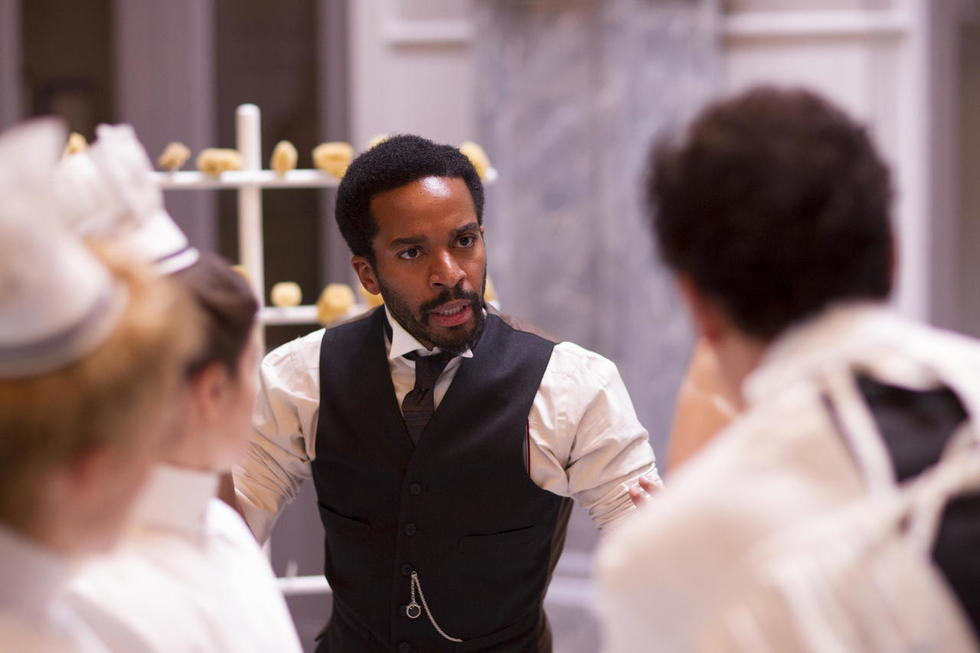 Why Does Hollywood Prefer Black English Actors? THE KNICK Star André Holland Speaks Out