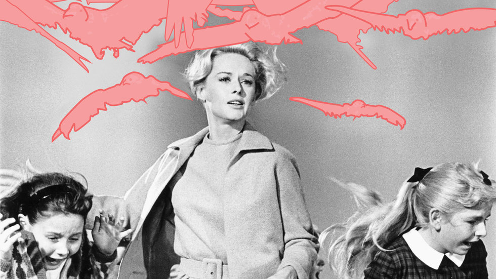 ​The Inevitable Endangerment of Womanhood in Hitchcock's THE BIRDS