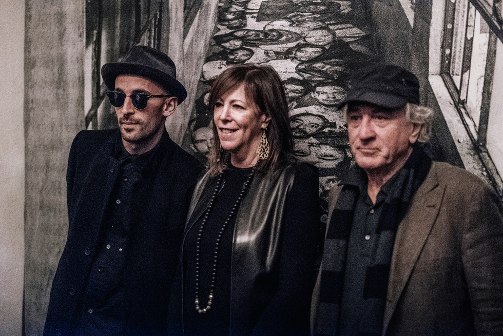 JR Collaborates  with Tribeca Founders Jane Rosenthal and Robert De Niro to Make ELLIS