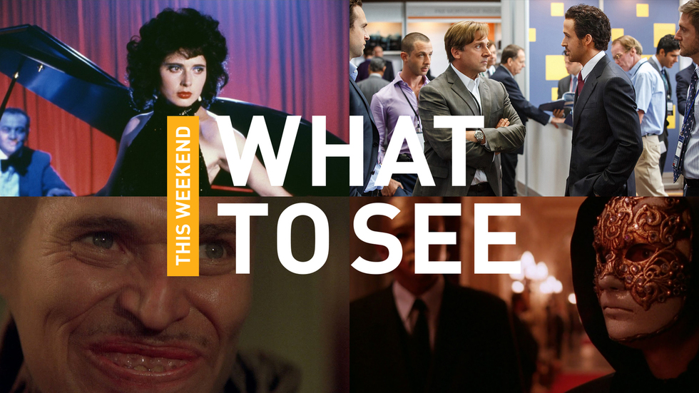 Ryan Gosling's Funniest Performance Yet, David Lynch's Best in 35mm, Stanley Kubrick's Perverted Christmas Movie, & More