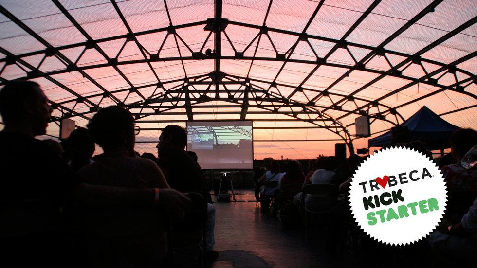 Help Preserve New York City's Unique Outdoor Movie-Watching Culture Through Rooftop Films' Kickstarter