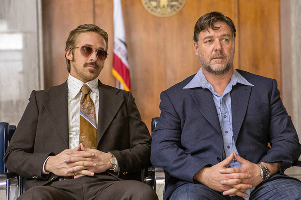 WATCH: Ryan Gosling and Russell Crowe Join Forces in Hilarious, Violent New THE NICE GUYS Trailer