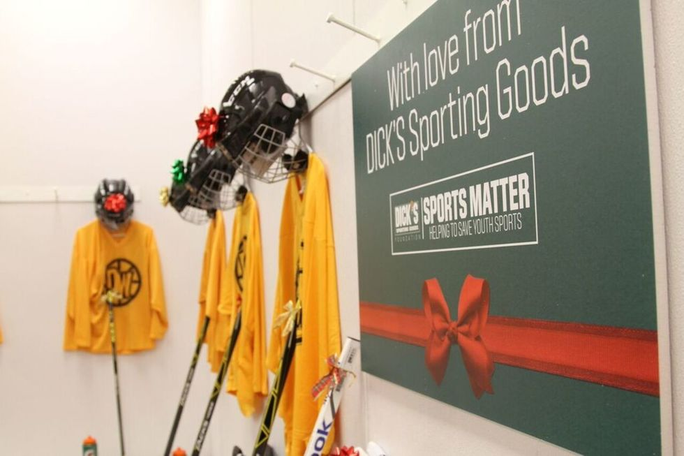 Ice Queens: DICK'S Sporting Goods & Tribeca Make Hockey Dreams Come True in A HOLIDAY ASSIST