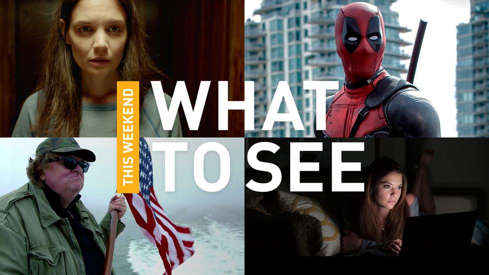 Ryan Reynolds Kills as DEADPOOL, Michael Moore Lightens Up, Katie Holmes Shines, and More