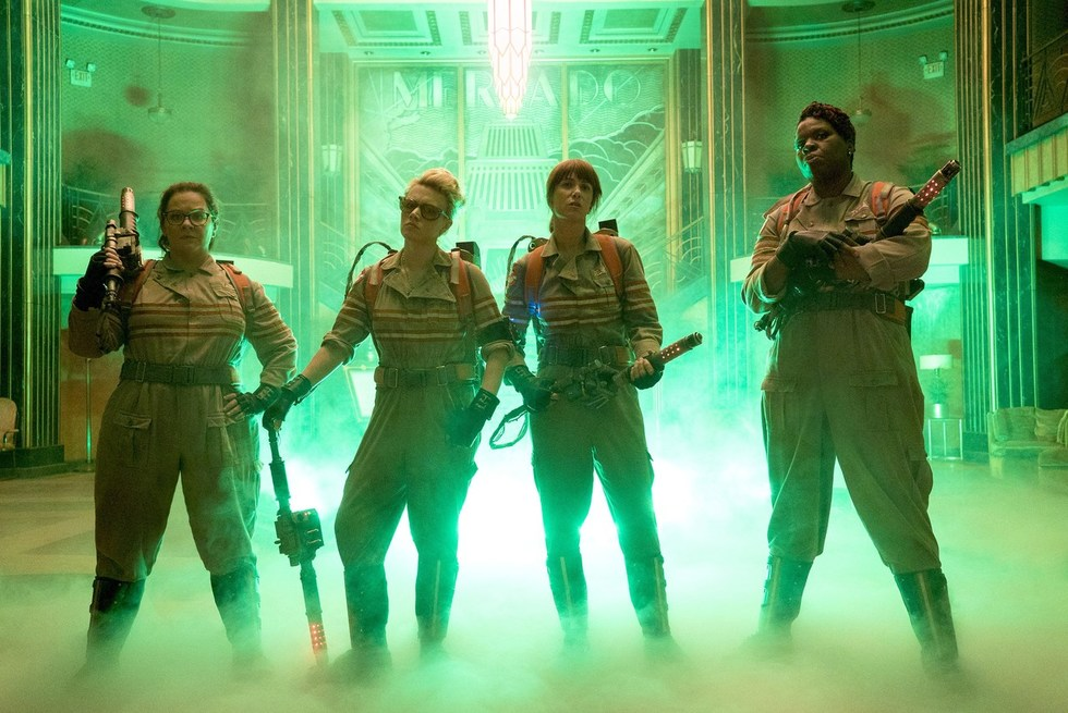WATCH: The New GHOSTBUSTERS (Kristen Wiig, Melissa McCarthy, Kate McKinnon, and Leslie Jones) Don't Disappoint