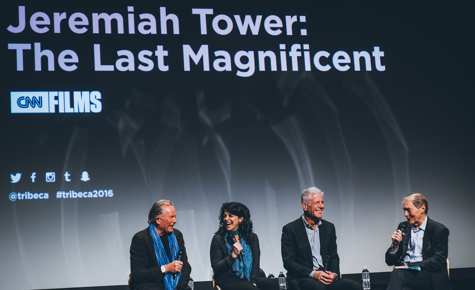 Anthony Bourdain Helped Tribeca 2016 Honor an Overlooked Icon With JEREMIAH TOWER: THE LAST MAGNIFICENT