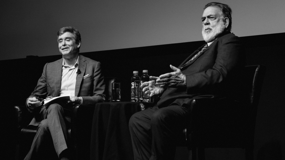 """The Iconic Francis Ford Coppola Explained His Current """"Film Student"""" Mentality at Tribeca 2016"""