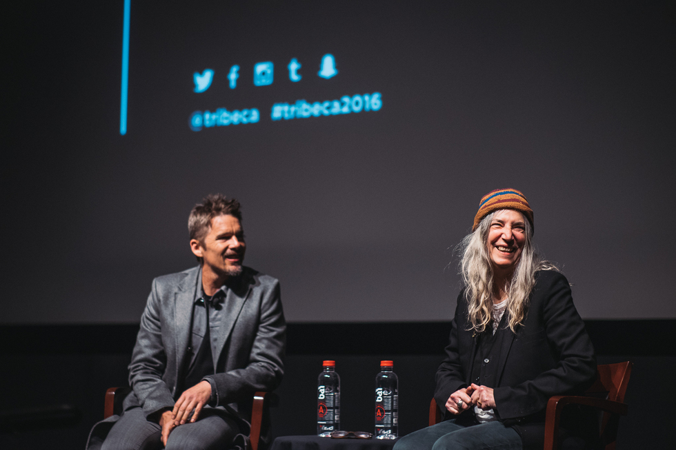 Patti Smith and Ethan Hawke Talk All Things Performance in Tribeca's First-Ever Storytellers Conversation