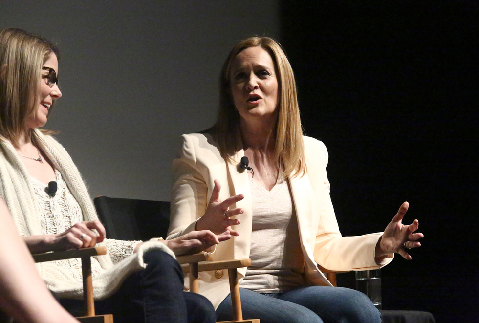 Samantha Bee and Jo Miller Discussed FULL FRONTAL and Other Sexual Euphemisms at Tribeca 2016