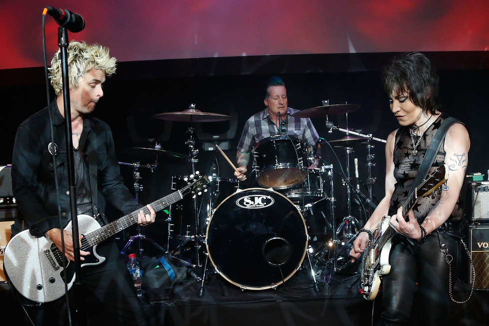 Joan Jett Rocked Out With Green Day For Special One-Night-Only GEEZER Show at Tribeca 2016
