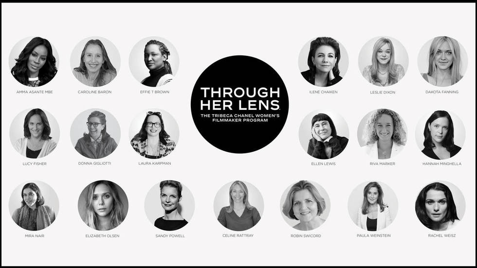 Women are the Future of Film: Tribeca and CHANEL Launch Third Annual THROUGH HER LENS