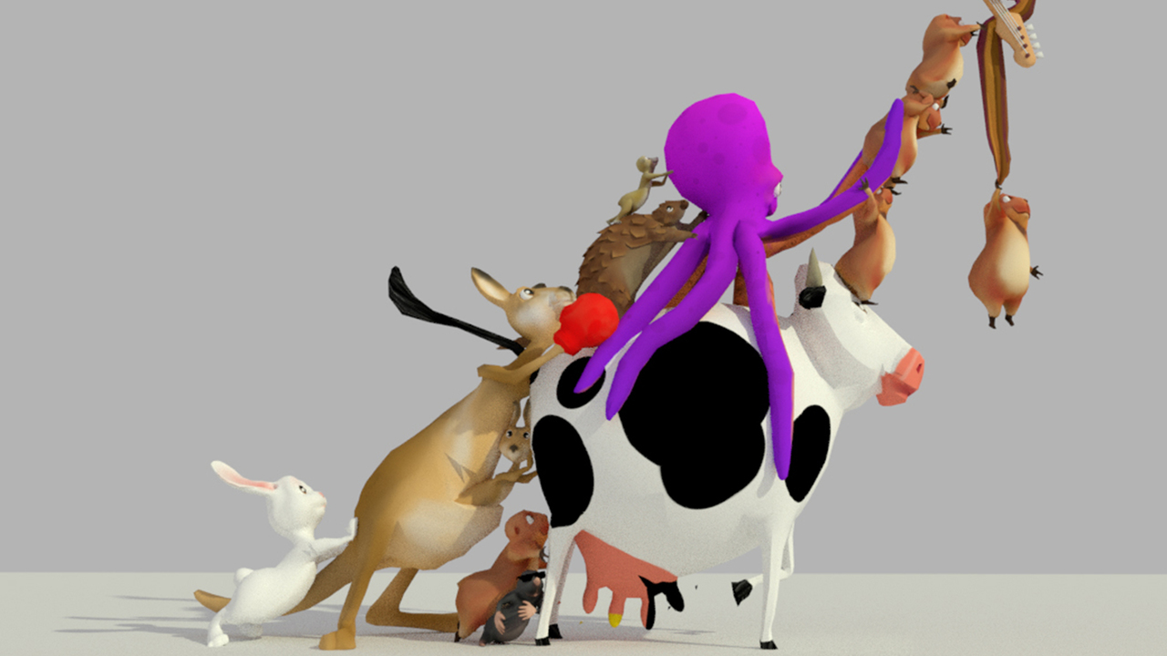 LAMBCHILD SUPERSTAR: Making Music in the Menagerie of the Holy Cow