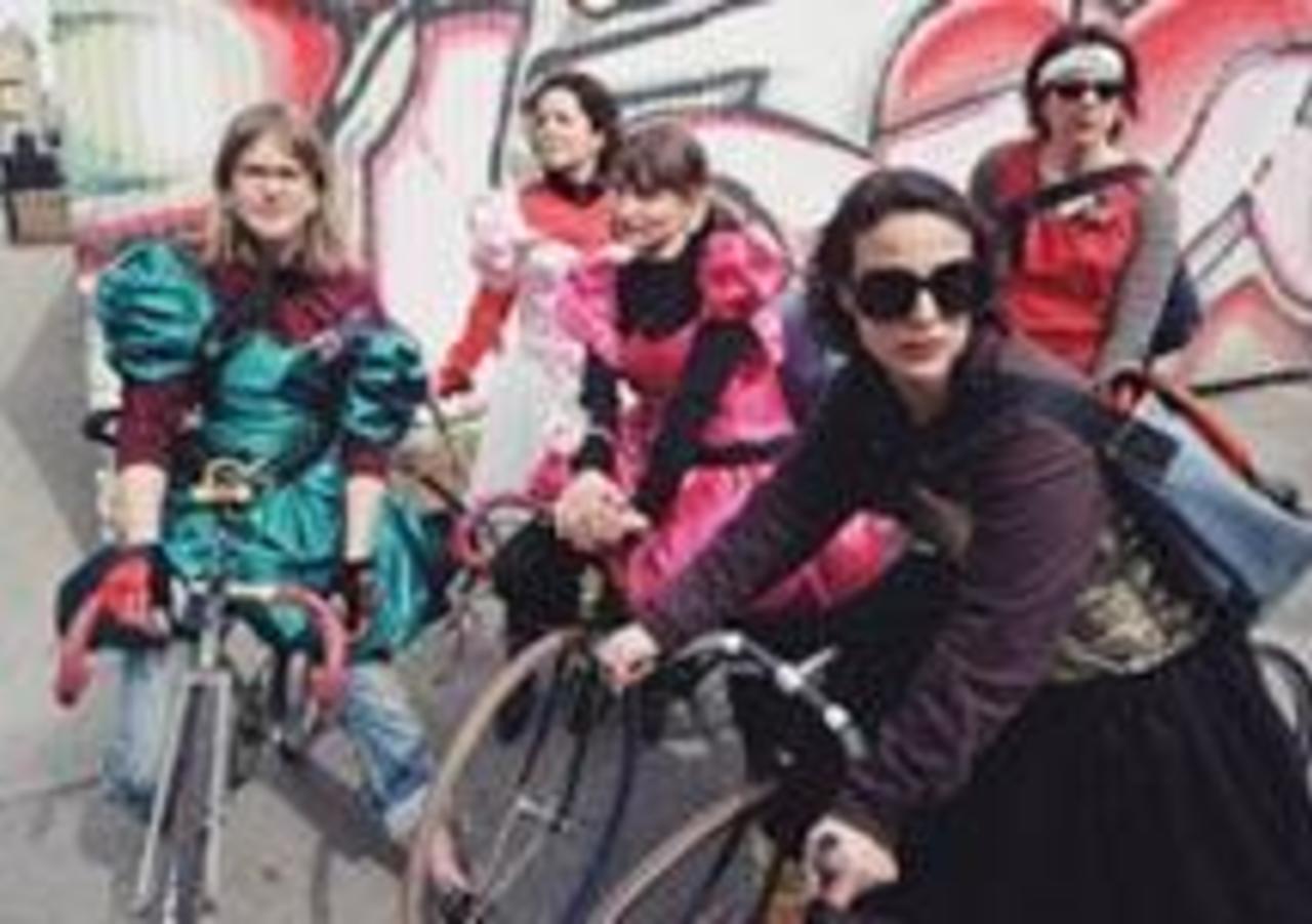 Bicycle Gangs of New York