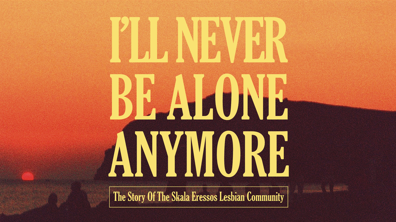I'll Never be Alone Anymore