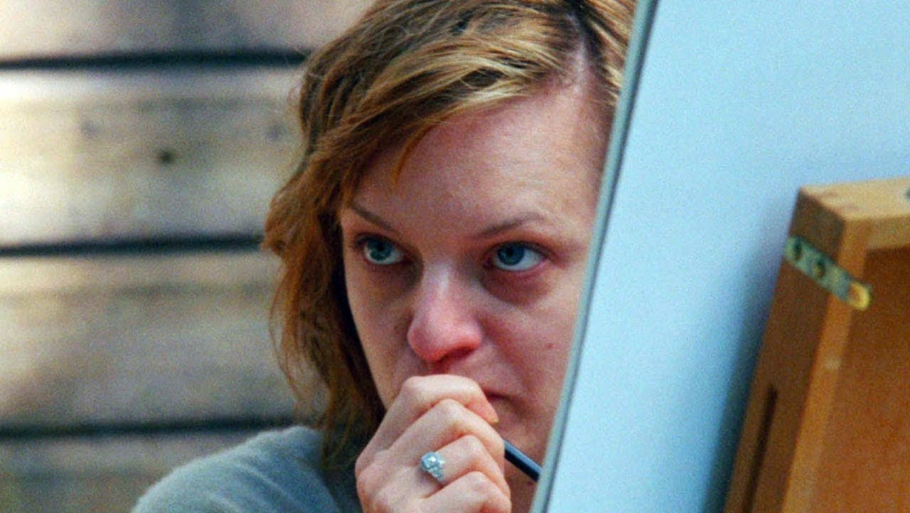Elisabeth Moss in QUEEN OF EARTH (2015).