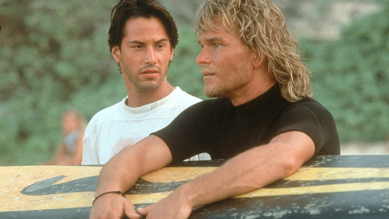 """Because you can't beat """"meat waffles"""" for brunch... POINT BREAK (1991)"""
